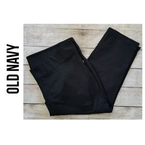 OLD NAVY Side-Zip Cropped Pants NWT - 26 Short